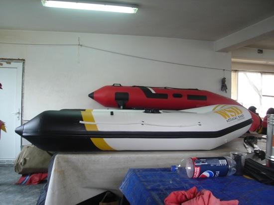 Primele poze cu barcile reale