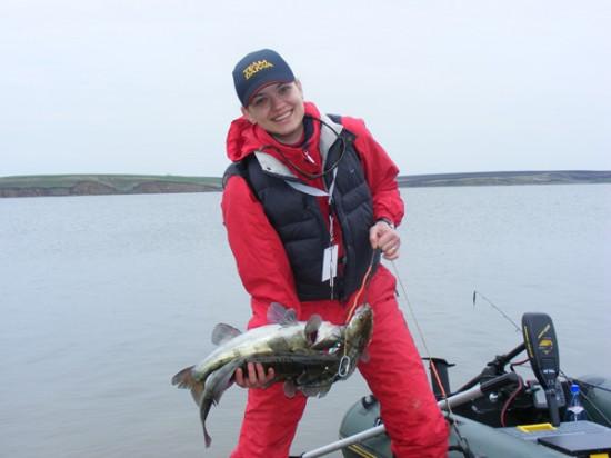 Cristina Catichi - prima pescarita din istoria Campionatului National de Spinning