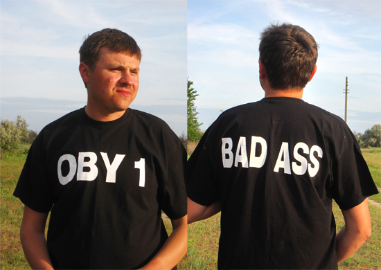 Oby One - BAD ASS