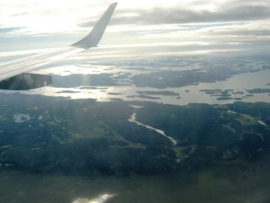 Suedia vazuta de sus