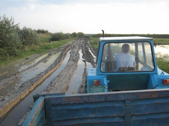 Noroiul alb care a si dat denumire acestui sat uitat de lume, Belo Blato