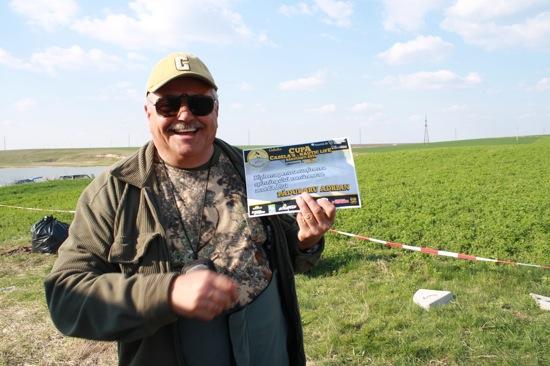 Paco - diploma pentru sustinerea spinningului romanesc