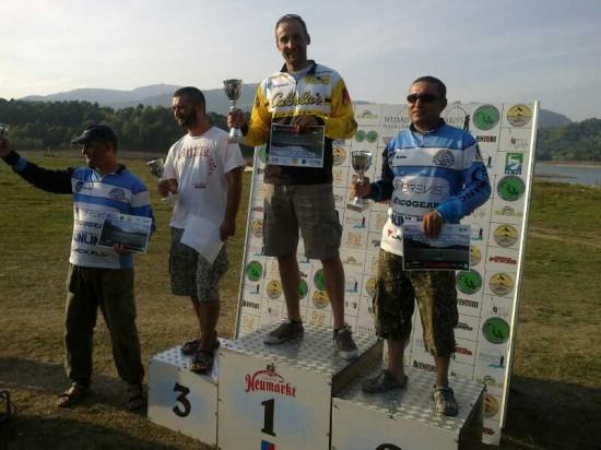 Spiac Adrian, Locul 1, Sabin Buzatu Locul 2, Mihai Preda locul 3, Laurentiu Andronic Cea Mai Mare Captura la Cupa WFT Bicaz 2011, Divizia Master