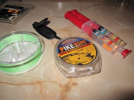 Materiale necesare pentru struna fara bride