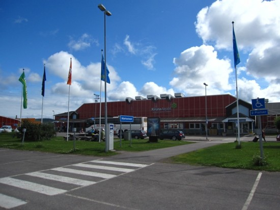 Cel mai nordic aeroport suedez