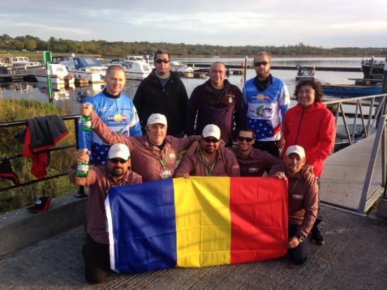 Delegatia Romaniei la mondialele de spinning, Irlanda 2016