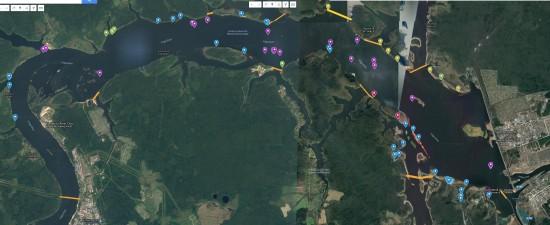 Harta Konakovo mondiale realizata cu Suunto Traverse Alpha