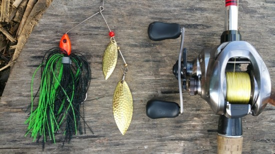 Shimano CHRONARCH MGL 151 si un spinnerbait din categoria grea