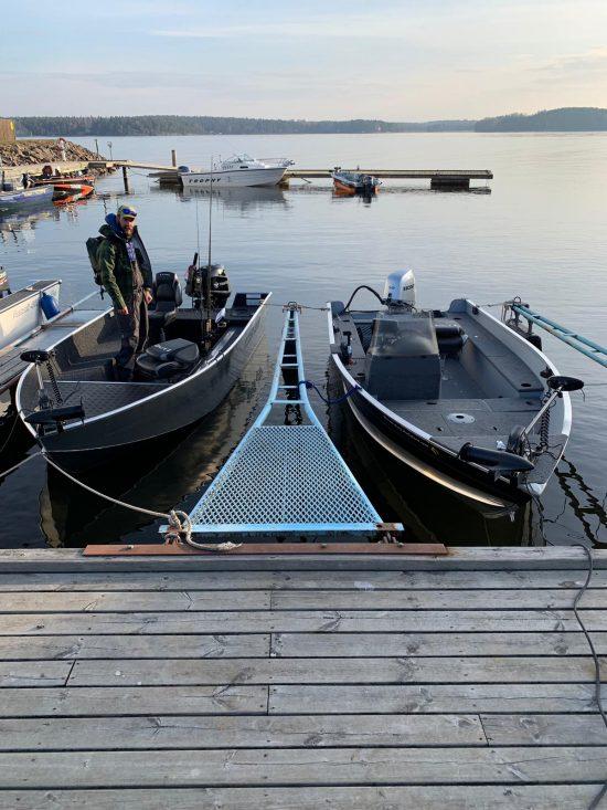 Barcile inchiriate, complet echipate, dar departe de iubita Finval Rangy 510 de acasa
