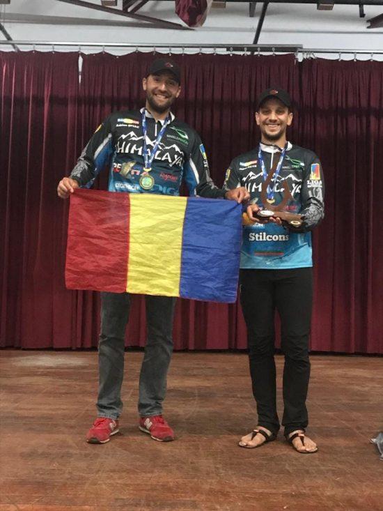 World Fishing Games 2019, Africa de Sud. Bronz la individual cu Adi Spiac